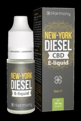 CBD Harmony E-tekočina New York Diesel