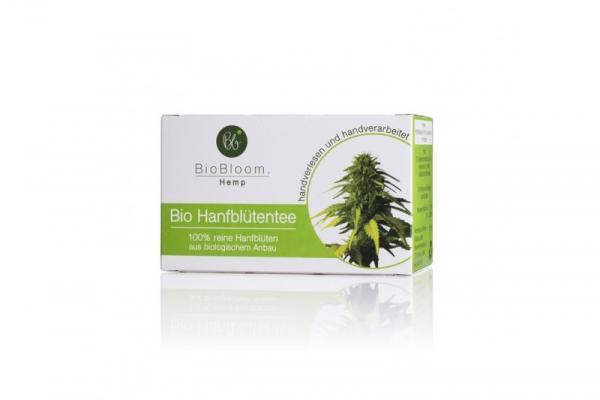 Bio čaj (CBDa) BioBloom iz konopljinih vršičkov