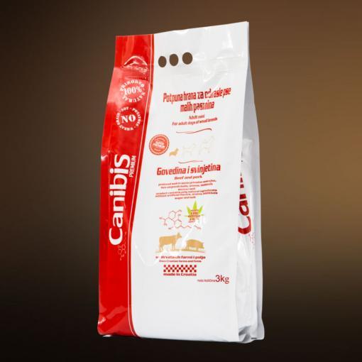 Pasja hrana Canibis z omega 3, 6 in 9 svinjina 3kg