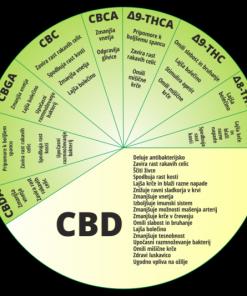 Konopljino olje BioBloom 250ml - CBD učinki
